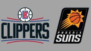 Clippers vs Suns